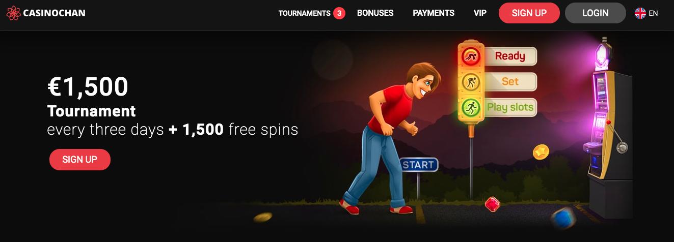CasinoChan site